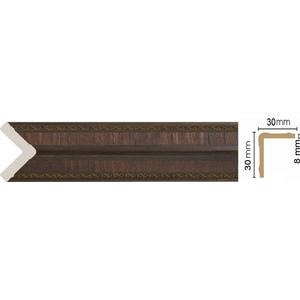 Угол Decomaster Престиж цвет 2 30х30х2400 мм (116-2)