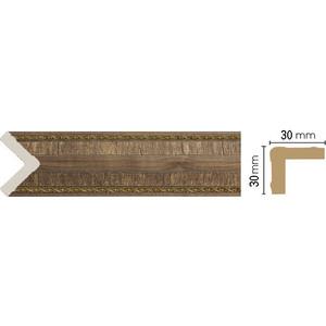 Угол Decomaster Орех цвет 3 30х30х2400 мм (116-3)