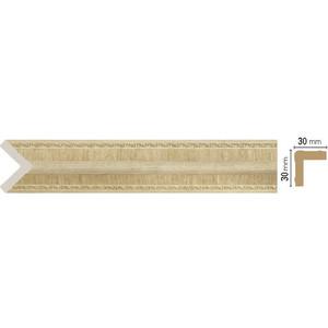Угол Decomaster Натуральный бежевый цвет 5 30х30х2400 мм (116-5)