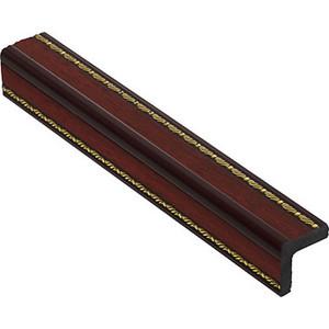 Угол Decomaster Вишня цвет 52 30х30х2400 мм (116-52)