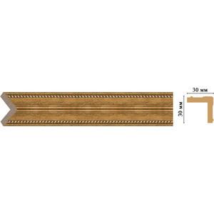 Угол Decomaster Ионика цвет 58 30х30х2400 мм (116-58) decomaster уголок decomaster 116 127 размер 30х30х2400