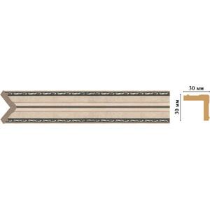 Угол Decomaster Эрмитаж цвет 59 30х30х2400 мм (116-59)