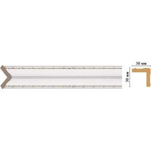 Угол Decomaster Эрмитаж цвет 60 30х30х2400 мм (116-60)
