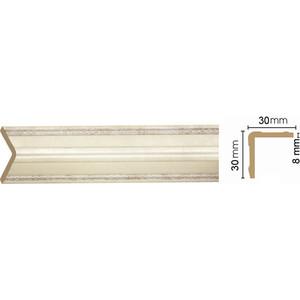 Угол Decomaster Матовое серебро цвет 937 30х30х2400 мм (116-937)
