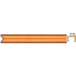 Угол Decomaster Эрмитаж цвет 1223 22х22х2400 мм (116M-1223)