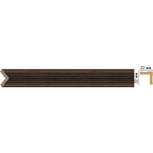 Угол Decomaster Ионика цвет 56 22х22х2400 мм (116M-56)