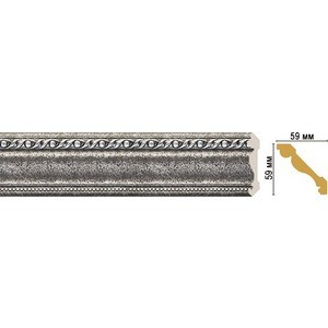 Плинтус Decomaster STONE LINE цвет 44 59х59х2400 мм (123-44)