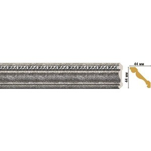 Плинтус Decomaster STONE LINE цвет 44 44х44х2400 мм (124-44)