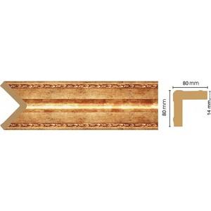 Угол Decomaster Античное золото цвет 552 81х81х2400 мм (140-552) молдинг decomaster античное золото цвет 552 60х22х2400 мм 161 552