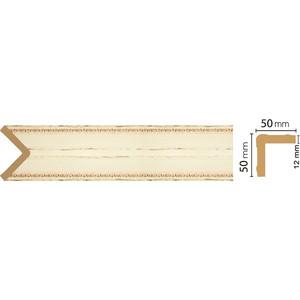 Угол Decomaster Бежевый антик цвет 1028 51х51х2400 мм (142-1028)