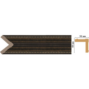Угол Decomaster Ионика цвет 56 51х51х2400 мм (142-56)
