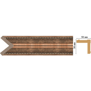 Угол Decomaster Ионика цвет 57 51х51х2400 мм (142-57) 57