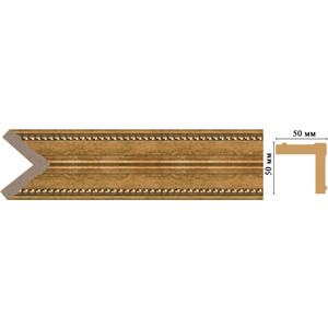 Угол Decomaster Ионика цвет 58 51х51х2400 мм (142-58) decomaster багет decomaster 808 552 размер 61х26х2900мм