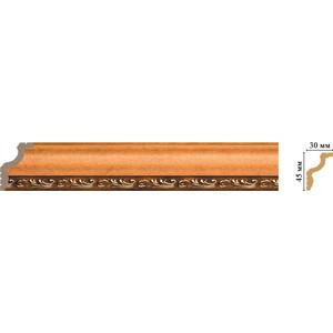 Плинтус Decomaster Эрмитаж цвет 1223 45х30х2400 мм (148B-1223)