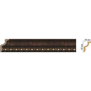 Плинтус Decomaster Ионика цвет 56 45х30х2400 мм (148D-56)