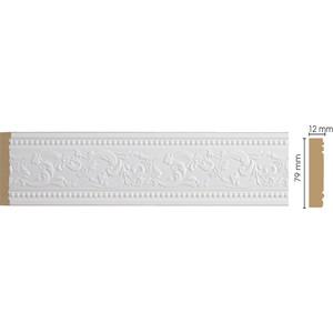 Молдинг Decomaster Белый цвет 115 80х12х2400 мм (150-115)