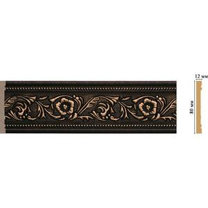 Молдинг Decomaster Ионика цвет 56 80х12х2400 мм (150-56) молдинг decomaster античное золото цвет 552 50х11х2400 мм 156 552