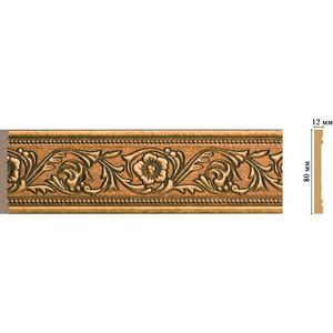 Молдинг Decomaster Ионика цвет 58 80х12х2400 мм (150-58) 58