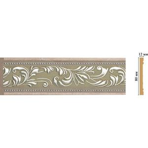 Молдинг Decomaster Эрмитаж цвет 59 80х12х2400 мм (150-59) молдинг decomaster античное золото цвет 552 50х11х2400 мм 156 552