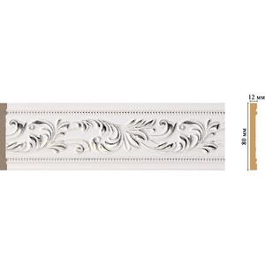 Молдинг Decomaster Эрмитаж цвет 60 80х12х2400 мм (150-60) decomaster декоративная панель decomaster b20 1084 200х9х2400мм