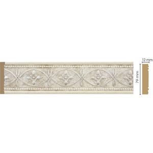 Молдинг Decomaster Матовое серебро цвет 937 80х12х2400 мм (150-937)