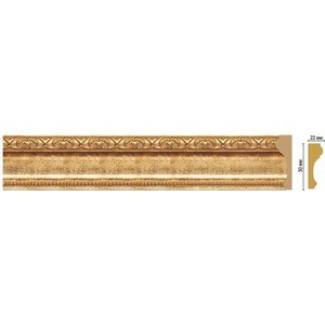 Молдинг Decomaster Золотой глянец цвет 126 50х22х2400 мм (151-126)