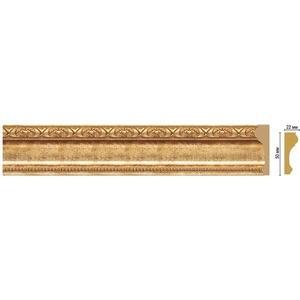 цена на Молдинг Decomaster Золотой глянец цвет 126 50х22х2400 мм (151-126)