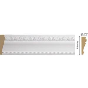 Молдинг Decomaster Белый цвет 115 85х25х2400 мм (152-115) вог арт картина открытка 152 115
