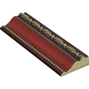 Молдинг Decomaster Вишня цвет 52 85х25х2400 мм (152-52) молдинг decomaster античное золото цвет 552 50х11х2400 мм 156 552