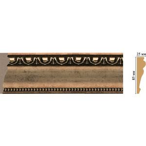 Молдинг Decomaster Ионика цвет 57 85х25х2400 мм (152-57) decomaster багет decomaster 808 552 размер 61х26х2900мм