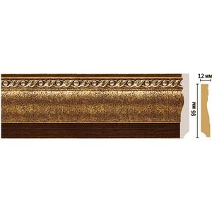 Плинтус напольный Decomaster STONE LINE цвет 43 95х12х2400 мм (153-43)