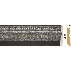 Плинтус напольный Decomaster STONE LINE цвет 44 95х12х2400 мм (153-44)