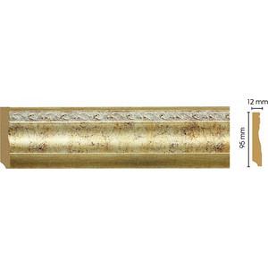 Плинтус напольный Decomaster Шампань цвет 553 95х12х2400 мм (153-553)