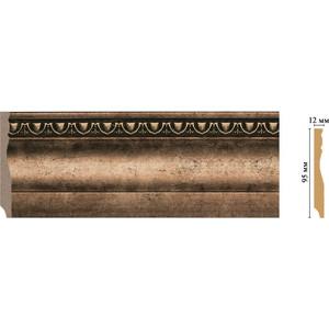 Плинтус напольный Decomaster Ионика цвет 57 95х12х2400 мм (153-57) полуоснование decomaster decomaster 2 цвет белый 195х390х165 мм dc 8302 8 h