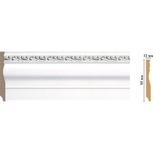Плинтус напольный Decomaster Эрмитаж цвет 60 95х12х2400 мм (153-60) decomaster багет decomaster 808 552 размер 61х26х2900мм