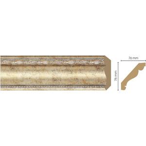 Плинтус Decomaster Шампань цвет 553 76х76х2400 мм (154-553) плинтус decomaster античное золото цвет 552 76х76х2400 мм 154 552