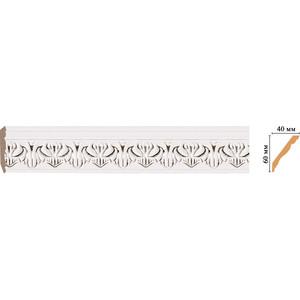 Плинтус Decomaster Эрмитаж цвет 60 60х40х2400 мм (155B-60) decomaster декоративная панель decomaster b20 1084 200х9х2400мм