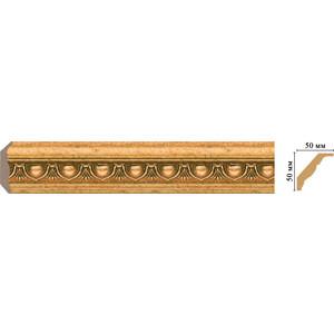 Плинтус Decomaster Ионика цвет 58 50х50х2400 мм (155D-58) decomaster багет decomaster 808 552 размер 61х26х2900мм
