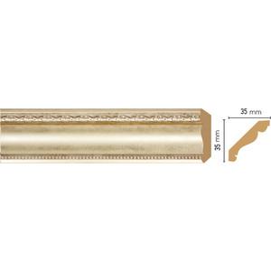 Плинтус Decomaster Матовое серебро цвет 937 35х35х2400 мм (155S-937)