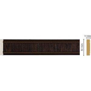 Молдинг Decomaster Темный шоколад цвет 1 50х11х2400 мм (156-1)