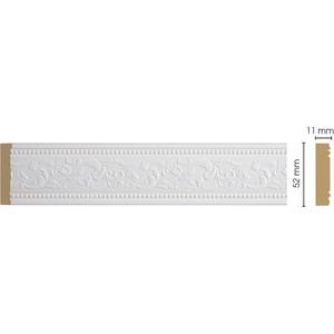 Молдинг Decomaster Белый цвет 115 50х11х2400 мм (156-115)
