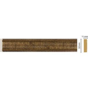 Молдинг Decomaster Орех цвет 3 50х11х2400 мм (156-3)