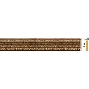 Молдинг Decomaster STONE LINE цвет 43 50х11х2400 мм (156-43)