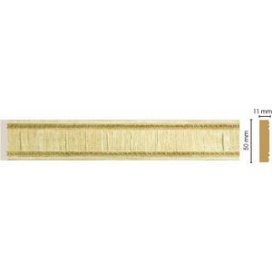 Молдинг Decomaster Натуральный бежевый цвет 5 50х11х2400 мм (156-5)