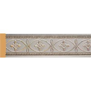 Молдинг Decomaster Серебристый металлик цвет 55 50х11х2400 мм (156-55)