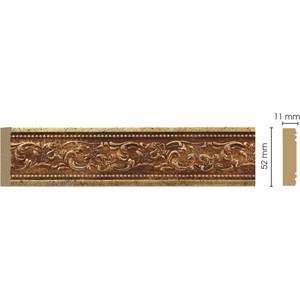 Молдинг Decomaster Античное золото цвет 552 50х11х2400 мм (156-552) молдинг decomaster античное золото цвет 552 85х25х2400 мм 152 552