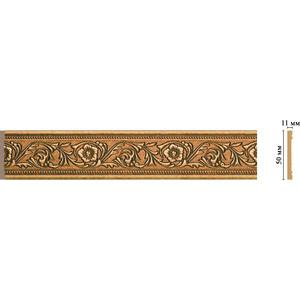 Молдинг Decomaster Ионика цвет 58 50х11х2400 мм (156-58) decomaster декоративная панель decomaster b20 1084 200х9х2400мм