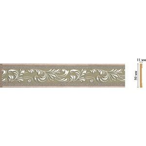 Молдинг Decomaster Эрмитаж цвет 59 50х11х2400 мм (156-59) цена