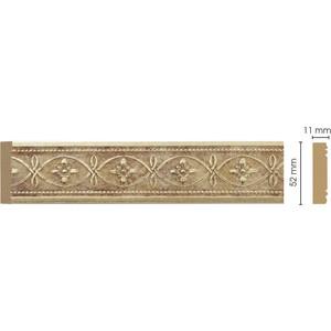 Молдинг Decomaster Матовое золото цвет 933 50х11х2400 мм (156-933)