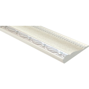 Молдинг Decomaster Ясень белый цвет 15 60х22х2400 мм (161-15)